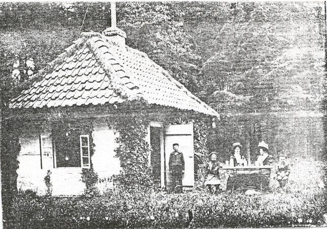 Jagdhütte Ihorst um 1900