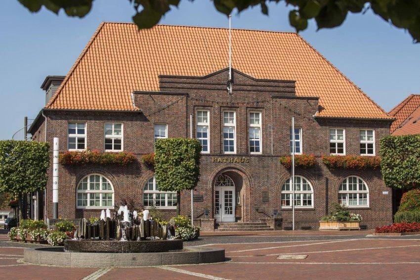 Blick auf das Rathaus vom Alten Markt