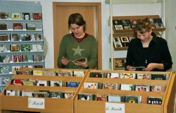 Stadtbücherei CDs