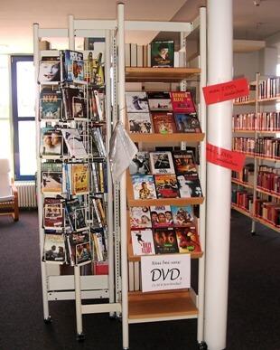 Stadtbücherei DVDs