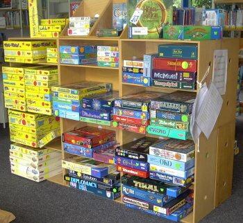 Stadtbücherei Spiele